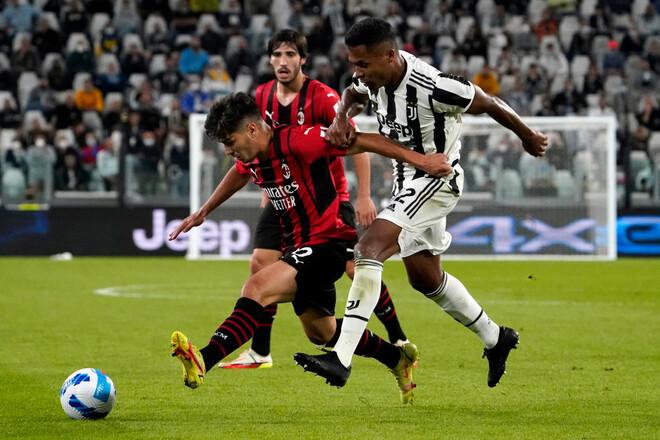 Ювентус – Милан – 1:1. Видео голов и обзор матча