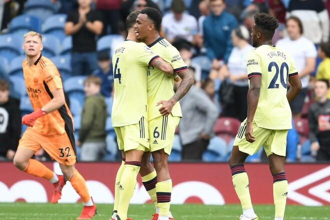 Бернли – Арсенал – 0:1. Видео гола и обзор матча