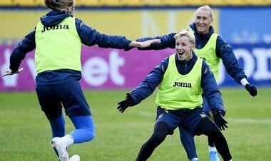 Женская сборная Украины обыграла команду Турции в товарищеском матче