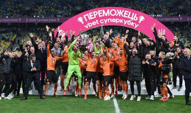 11 игроков Шахтера впервые отпраздновали викторию в Суперкубке Украины