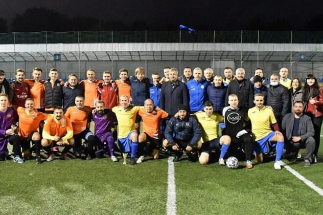 Накануне поединка за Суперкубок Украины сыграли благотворительный матч