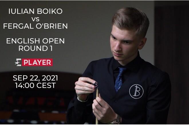 Всухую и без шансов. Юлиан Бойко в 16-й день рождения проиграл в Англии