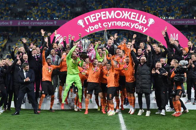 11 гравців Шахтаря вперше відсвяткували вікторію в Суперкубку України