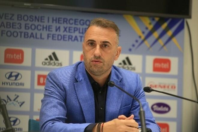 Тренер Боснии и Герцеговины: «Украина добилась большого прогресса»