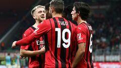 Серия А. Милан дожал Венецию и сравнялся по очкам с Интером