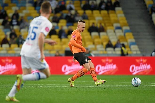Матвиенко после матча с Динамо наложили девять швов