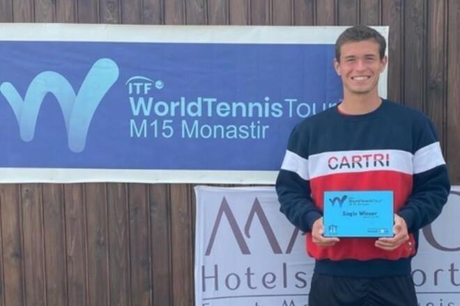 Ваншельбойм пробился в полуфинал 25-тысячника ITF