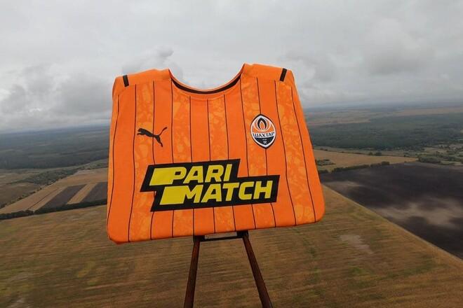 Parimatch запустили футболку Шахтера в космос