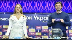 ФОТО. Чарівна Дар'я Білодід провела жеребкування 1/8 фіналу Кубку України