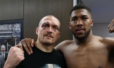 ФОТО. Кровавый бой. Как выглядят лица Джошуа и Усика после большой рубки