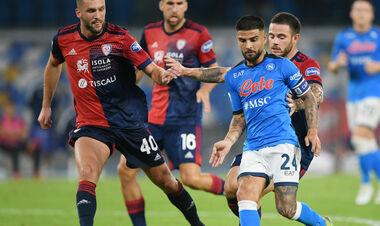 Наполи выиграл шестой матч подряд и укрепил лидерство в Серии A