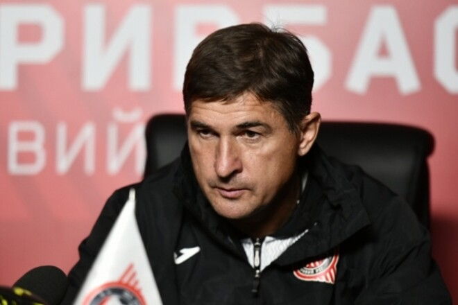 Тренер Кривбасса: «Наше первое поражение дома в Первой и Второй лигах»