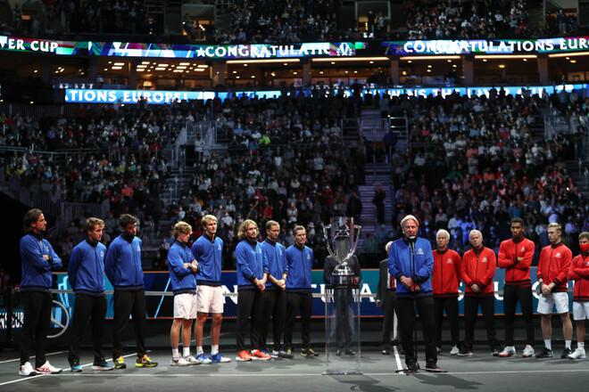 Команда Европы в четвертый раз подряд выиграла Кубок Лейвера