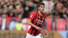 Серия А. Милан вырвал победу над Специей, сын Мальдини забил дебютный гол
