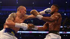 Очень умный бокс! Усик победил Джошуа по очкам и забрал у британца 4 пояса!