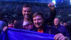 ФОТО. Ярмоленко — Усику: «З перемогою, чемпіоне!»