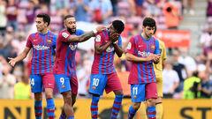 Прервали серию. Барселона выиграла впервые за четыре матча