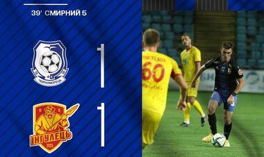 Черноморец – Ингулец – 1:1 Как Одесса выпустила победу. Видео голов и обзор