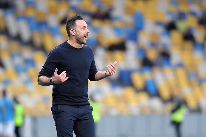 ДЕ ДЗЕРБИ: «Как итальянец, счастлив встретиться с командой из своей страны»