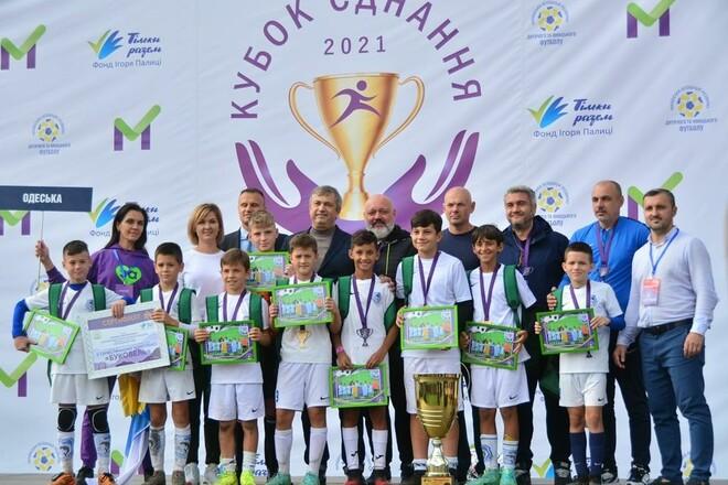 Определились победители детского футбольного турнира Кубок единения-2021