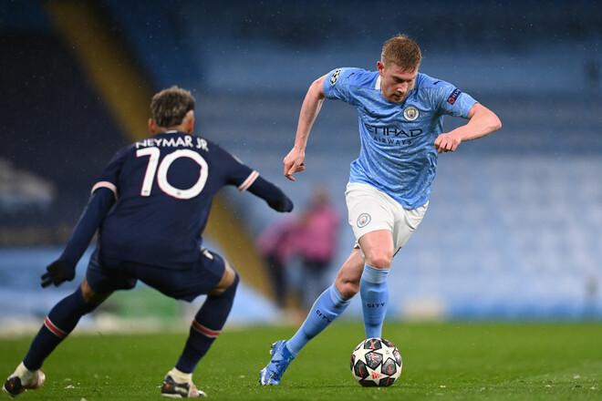 Где смотреть онлайн матч Лиги чемпионов ПСЖ – Манчестер Сити