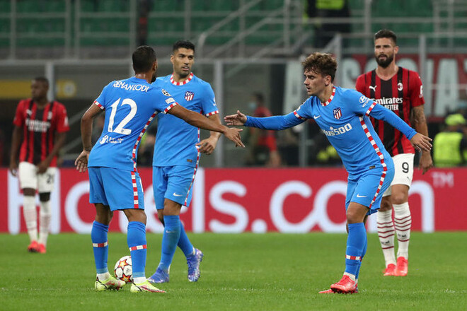 Группа B. Атлетико вырвал победу у Милана, Ливерпуль уничтожил Порту
