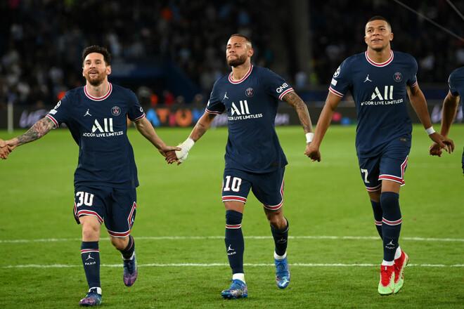 ПСЖ – Ман Сити – 2:0. Как Месси забил дебютный гол. Видео голов, обзор игры