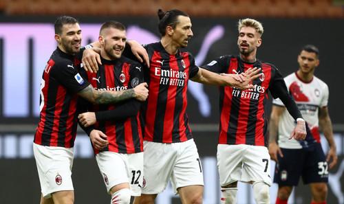 Дубль Ибрагимовича помог Милану разгромить Кротоне