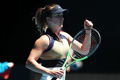 Свитолина в непростом матче обыграла Боузкову на старте Australian Open