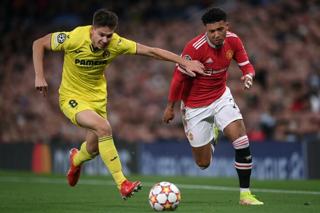 Манчестер Юнайтед – Вильярреал. Смотреть онлайн. LIVE трансляция