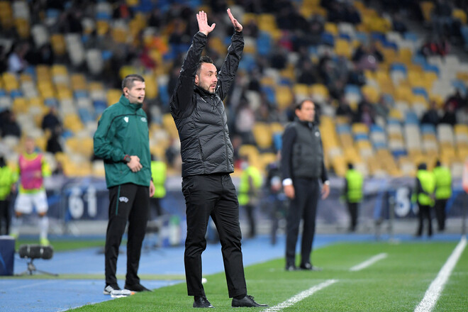 Роберто ДЕ ДЗЕРБИ: «Шахтер грандиозно сыграл с Динамо и Интером»