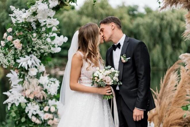ФОТО. Муж и жена. Терлюга показала снимки со свадьбы