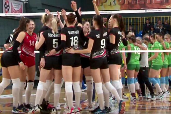 Стартовал новый чемпионат Украины по волейболу среди женщин