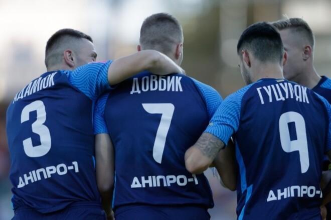 Львов - Днепр-1 - 0:1. Суперудар Довбика. Видео гола и обзор матча
