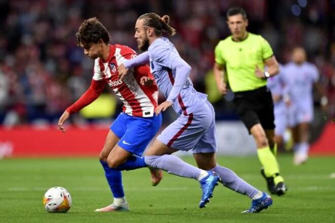 Атлетико уверенно обыграл Барселону на своем поле