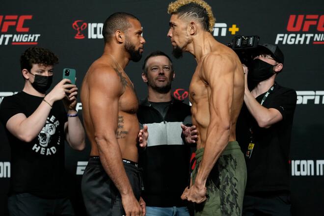 UFC: Тиаго Сантос – Джонни Уокер. Смотреть онлайн. LIVE трансляция
