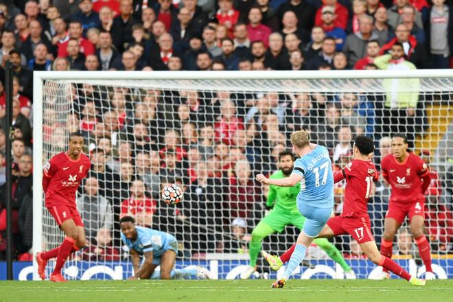 Ливерпуль дважды вёл в счете, но не смог обыграть Манчестер Сити