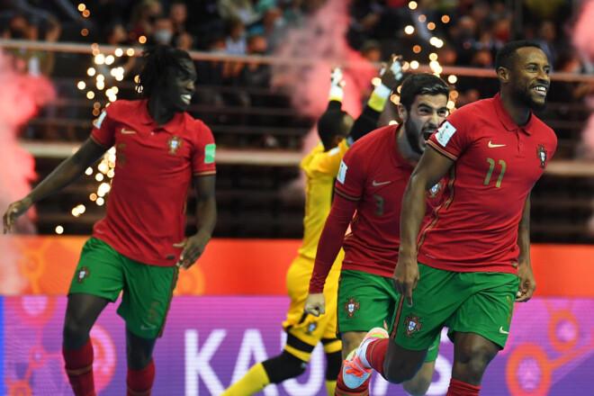 ВИДЕО. Португалия обыграла Аргентину и стала чемпионом мира 2021 по футзалу