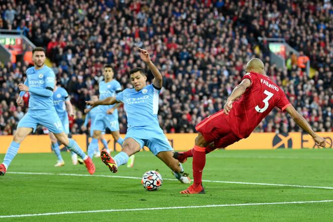 Ливерпуль – Манчестер Сити – 2:2. Видео голов и обзор матча
