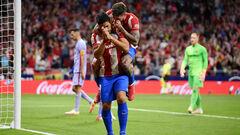 ФОТО. Суарес отдал дань уважения Барселоне после забитого мяча