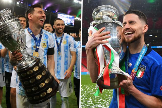 УЕФА и КОНМЕБОЛ создают новый трофей. Аргентина и Италия разыграют титул