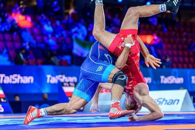 Без медали. Украинец уступил в бронзовом финале чемпионата мира по борьбе
