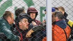 ВІДЕО. На матчі Ворскла - Інгулець відбулася бійка вболівальників