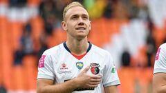 Футболист Вереса Клец получил травму