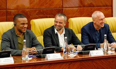 ФОТО. Павелко и Беленюк провели в Киеве встречу с делегацией из Нью-Йорка