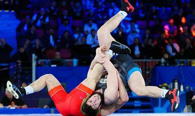 Закариев принес Украине первую медаль на чемпионате мира по борьбе