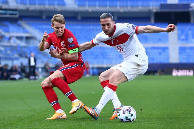Турция – Норвегия. Прогноз и анонс на матч квалификации ЧМ-2022
