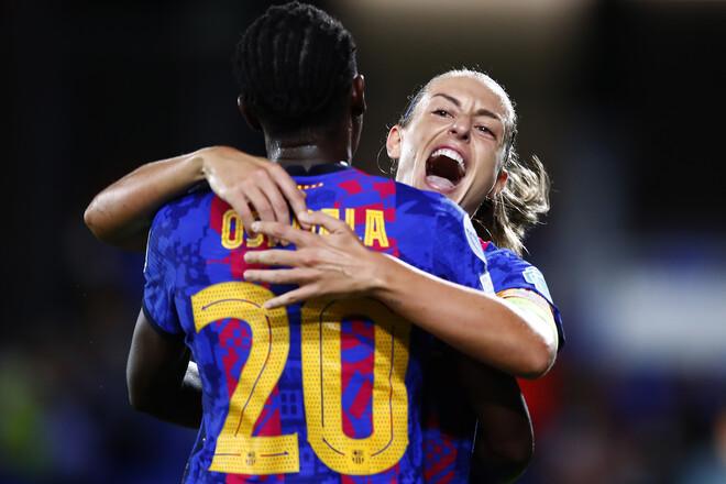 Стартовала женская Лига чемпионов. Барселона разгромила Арсенал