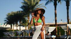 ФОТО. Марина Бех-Романчук в бикини загорает на египетском пляже