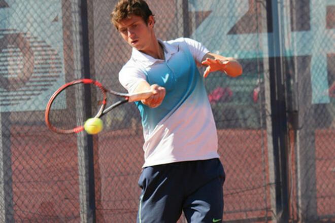 Калениченко завершил борьбу на 25-тысячнике ITF в Праге